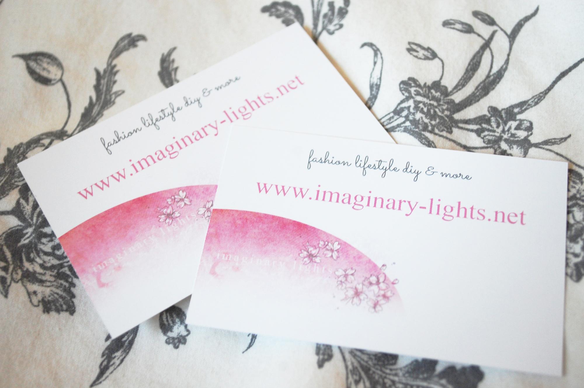 Meine Visitenkarten Von Cewe Imaginary Lights