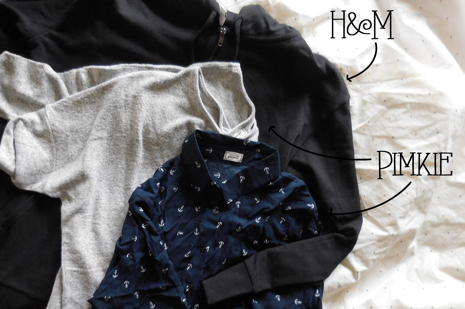 bfs: primark, h&m, pimkie - imaginary lights